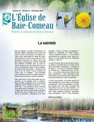 Église de Baie Comeau, L'