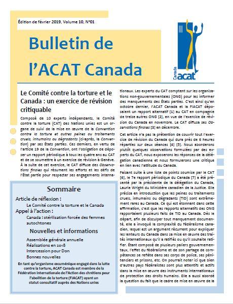 Une publication de l'ACAT Canada