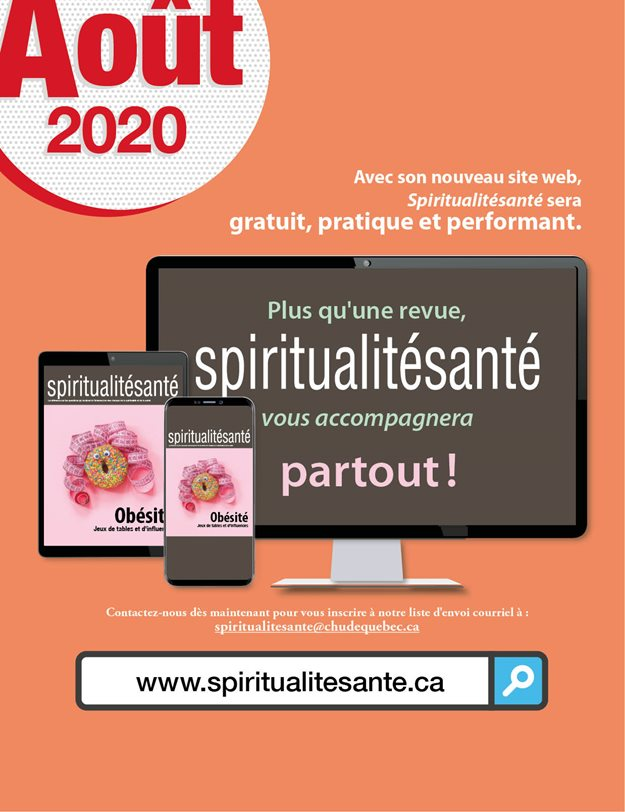 Spiritualitésanté: deux nouvelles