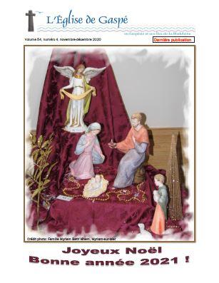 L'Église de Gaspé: ultime numéro